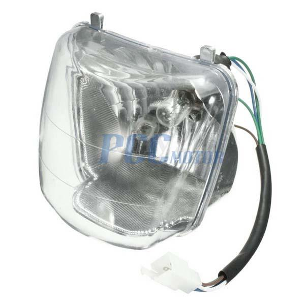 4 Wires Chinese Atv Quad Headlight 50 70 90 110cc Coolster