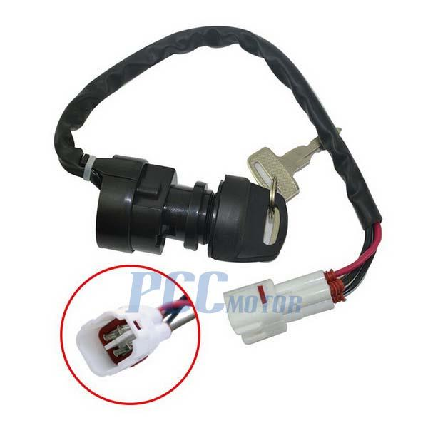 968760187_o 4 wire ignition key switch yamaha big bear grizzly kodiak raptor 2002 Yamaha Big Bear Wiring Diagram at mifinder.co