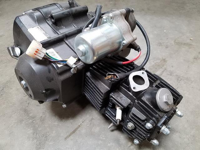 Engines & Engine Parts 125CC SEMI AUTO ENGINE REVERSE Gear