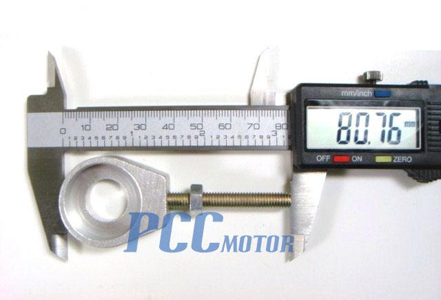 12MM CHAIN ADJUSTER HONDA XR50 CRF50 XR CRF 50 107 125 SSR SDG BLACK P AD01