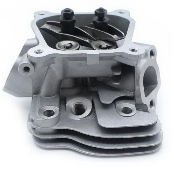 Honda Gx160 5 5hp Cylinder Head Set Valves  U0026 Springs Guide Plate Gasket