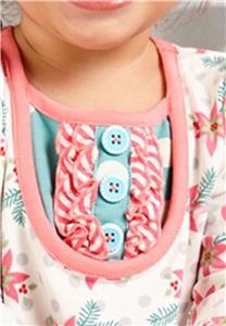 Matilda Jane GENTLY GENTLY TUNIC CAVALIER LEGGINGS 3-6 M Baby Holiday NWT