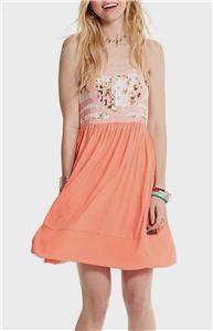 Matilda Jane SUMMER SUNSET Dress Size Large Women/'s Striped Tank Sundress NWT