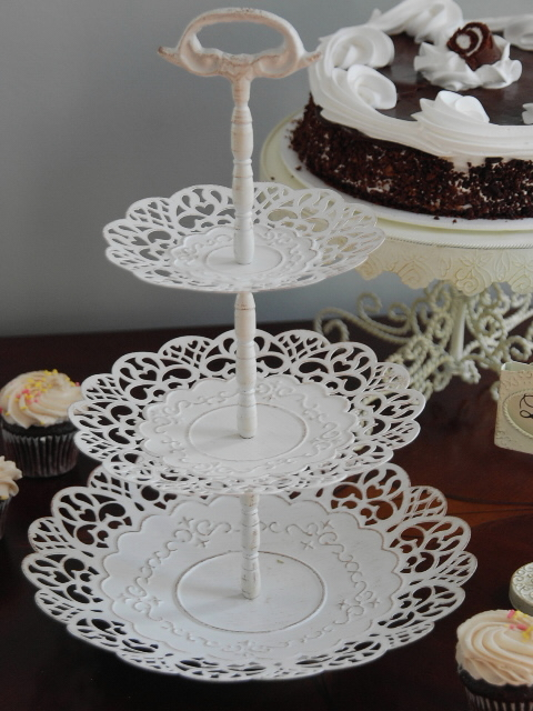 Shelley B Decor And More Shabby Chic 3 Tier Server