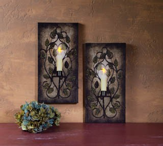 Owl O Ween Night Radiance Lighted Canvas Halloween X46568