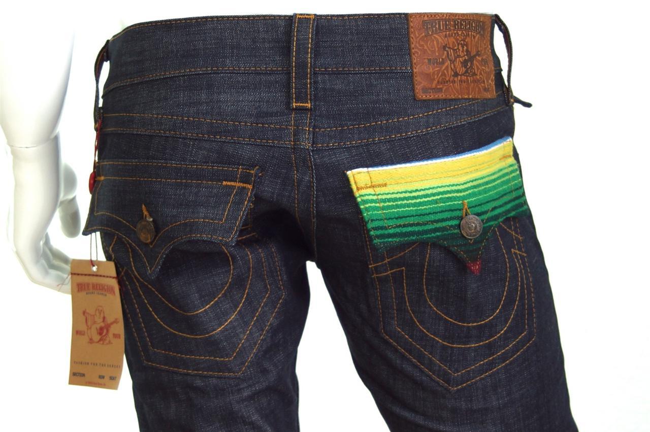 true religion brand jeans ricky baja straight mens jean. Black Bedroom Furniture Sets. Home Design Ideas