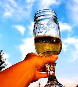 new redneck stem glass hillbilly ball mason jar wine beer college party mug. Black Bedroom Furniture Sets. Home Design Ideas