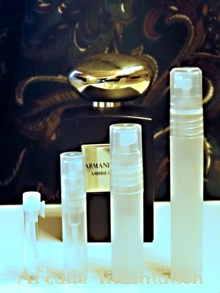 Image 0 of Armani Prive La Collection des Mille et une Nuits Ambre Orient Samples (DISC)