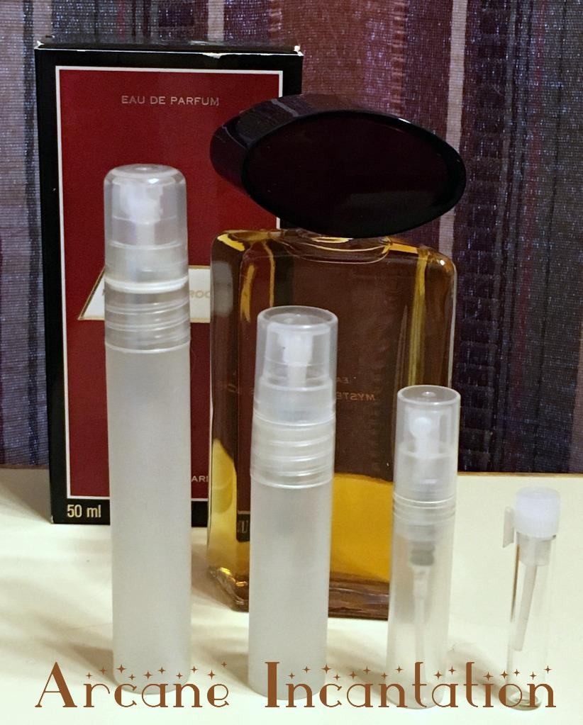 Image 0 of Vintage Mystere de Rochas Eau de Parfum Samples (Original Formulation/Disc)
