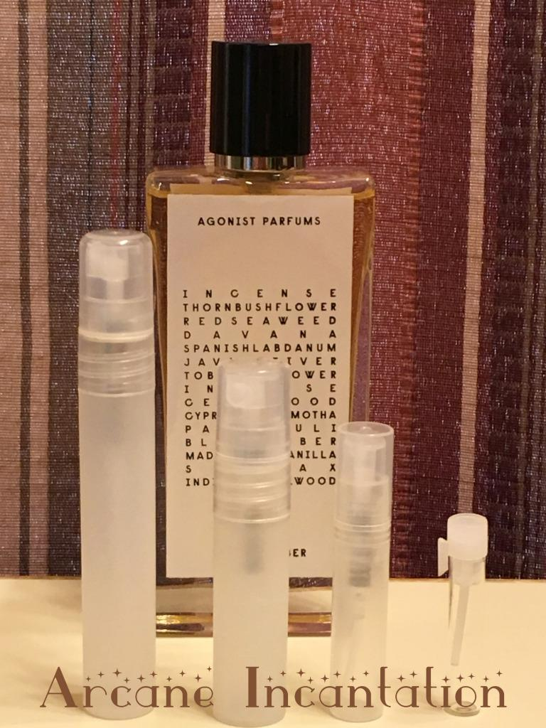 Image 0 of Agonist Black Amber Eau de Parfum Samples
