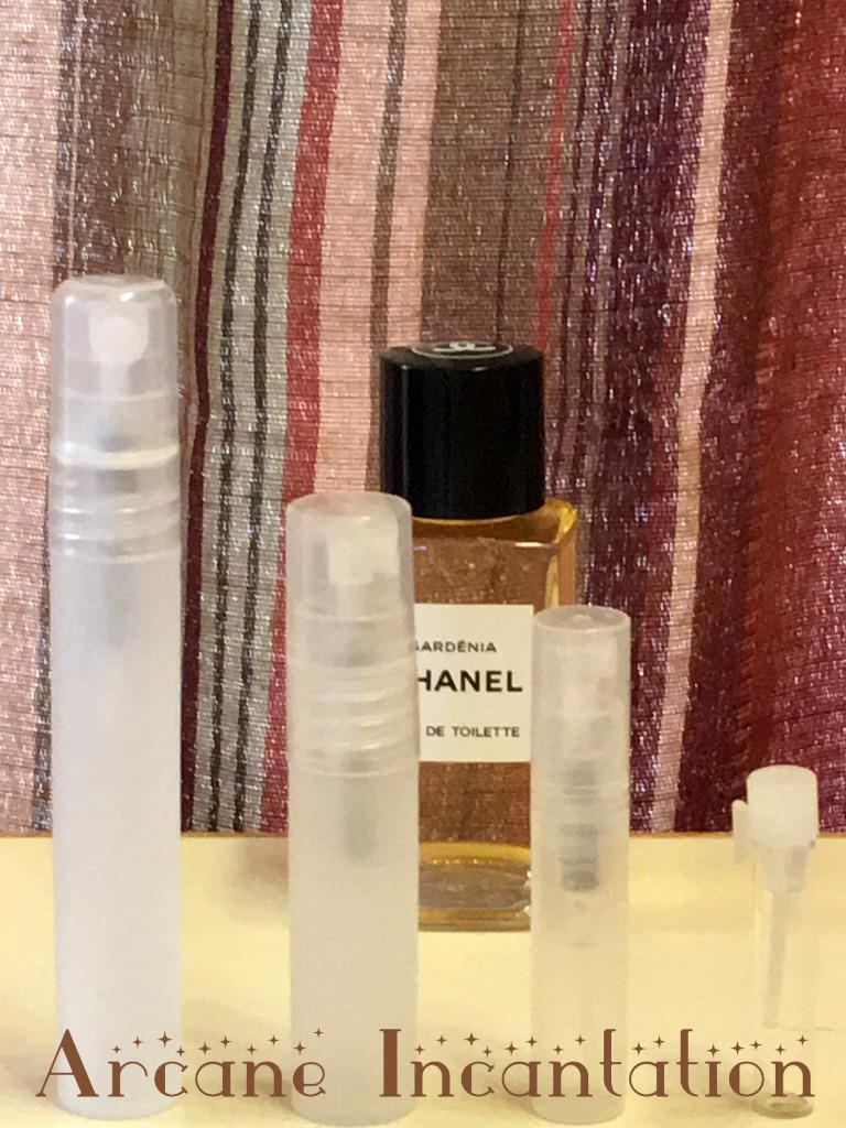 Image 0 of Vintage Chanel Gardenia Eau de Toilette Samples (Original Formulation)