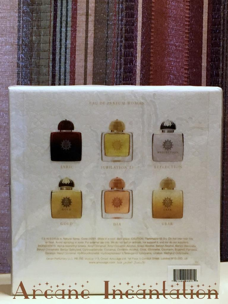 Image 1 of Amouage Miniature Eau de Parfum Collection Women 6x7.5ml/.25oz SIB