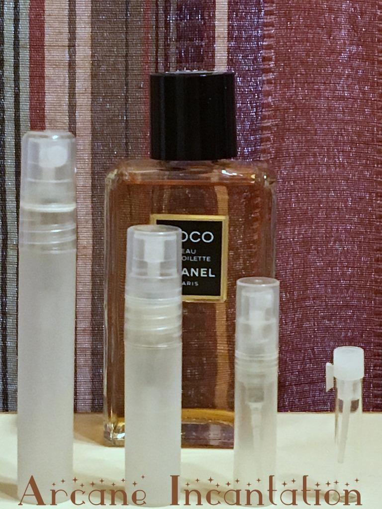 Image 0 of Vintage Chanel Coco Eau de Toilette Samples (Original Formulation)