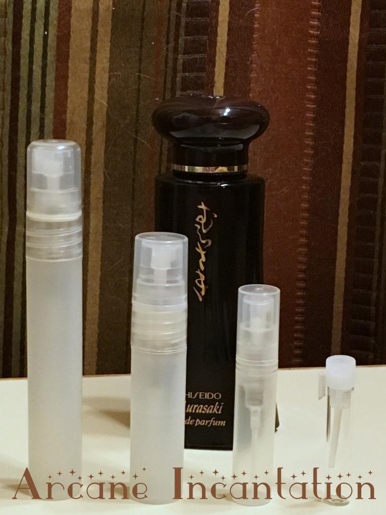 Image 0 of Vintage Shiseido Murasaki Eau de Parfum Samples (Rare Original Formulation)