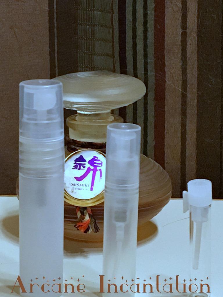 Image 0 of Vintage Shiseido Nishiki Pure Parfum Samples (Ultra Rare)