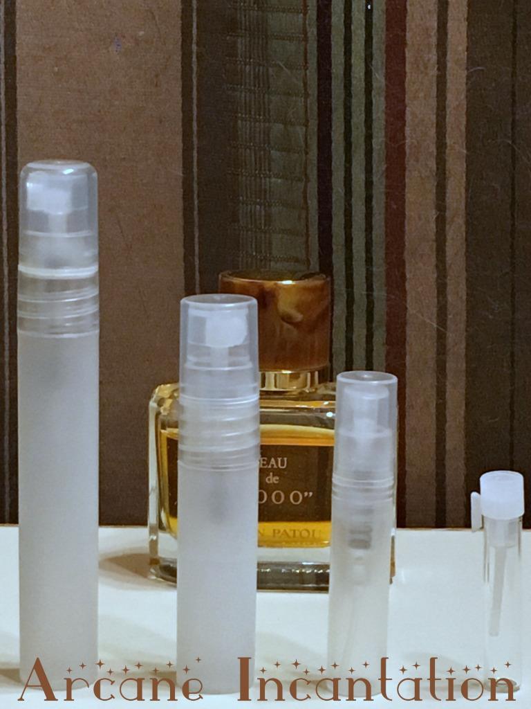 Image 0 of Vintage Jean Patou Eau de 1000 Eau de Parfum Samples (Rare Original Formulation)