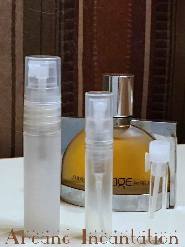 Image 0 of Vintage Shiseido Rivage Pure Parfum Samples (Rare Orig Formulation)