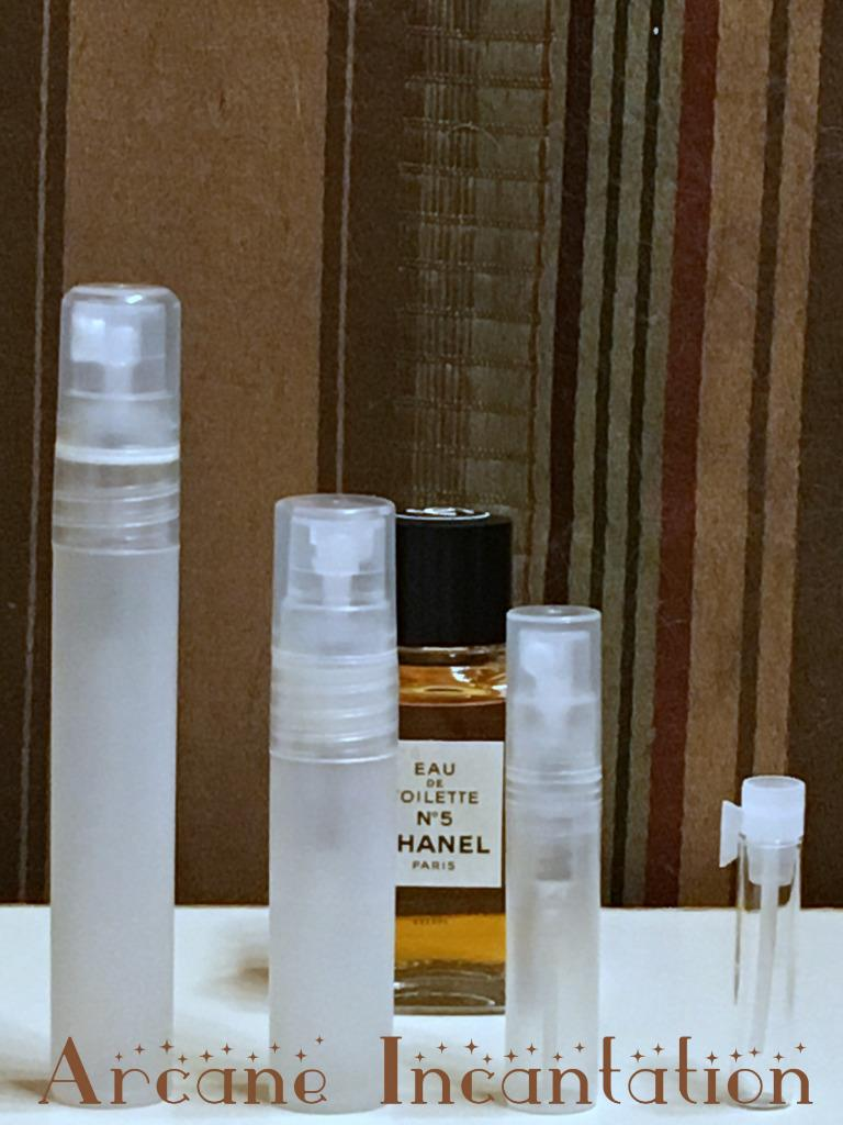 Image 0 of Vintage Chanel No. 5 Eau de Toilette Samples (Original Formulation)