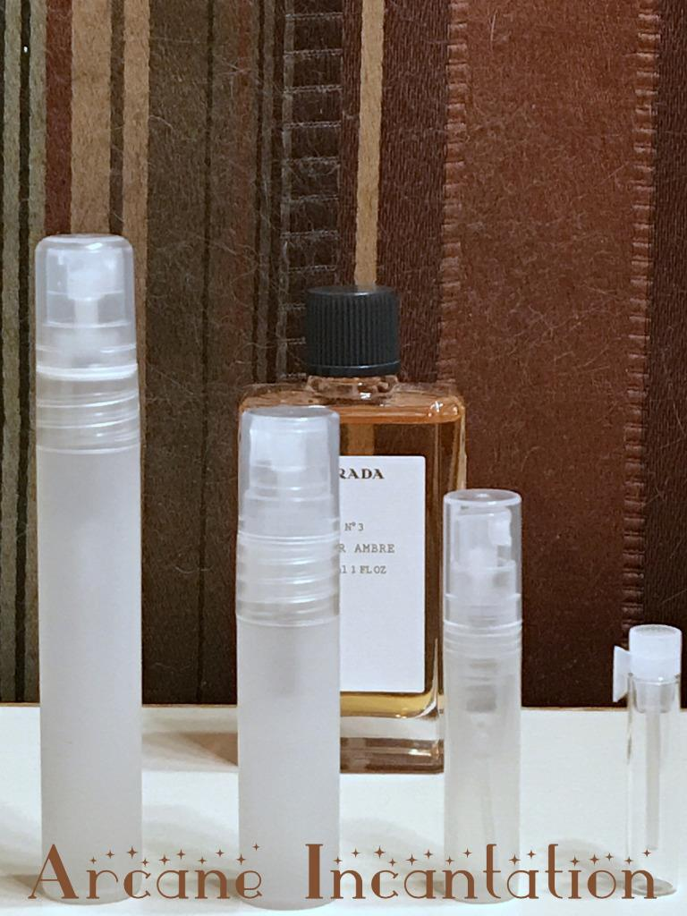 Image 0 of Prada No. 03 Cuir Ambre Pure Parfum Samples (Discontinued & Rare)