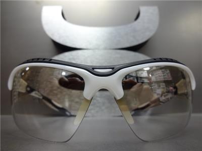 Unisex ciclismo Mountian bicicletta stile avvolgere intorno occhiali da sole con lenti specchiate