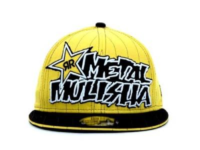 fd42188bd29 Metal Mulisha Designated Hitter Rockstar New Era 59 Fifty Hat Ball ...