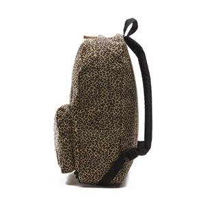 vans off the wall leopard backpack