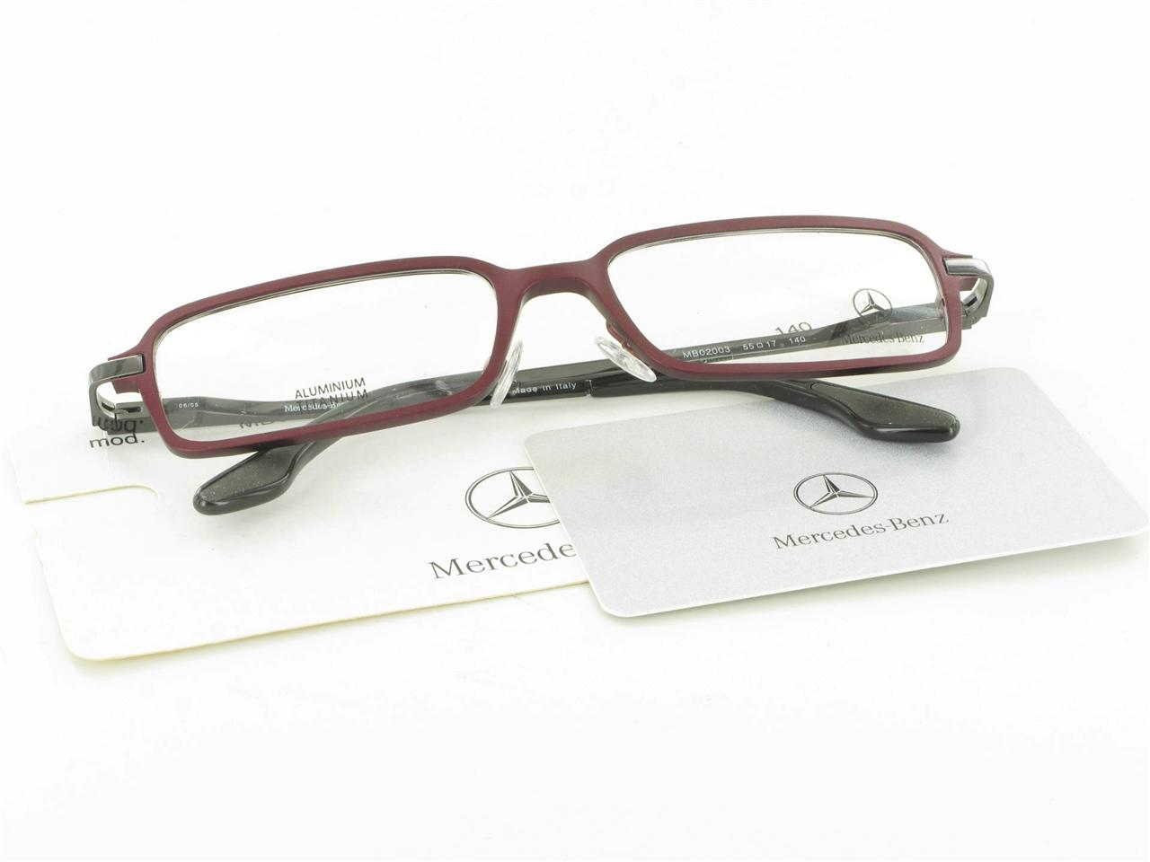 8636ba59b4b Mercedes Benz Glasses Frames. Men  39 s Mercedes-Benz 04904 0707 Half Rim  Eyeglasses with Plastic Frames