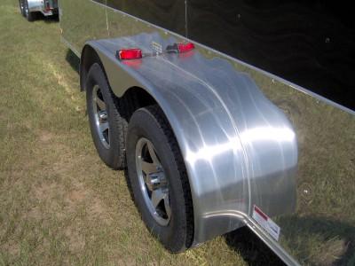ATV cargo motorcycle trailer black Finished interior toy hauler