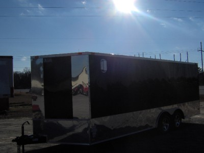 racecar car hauler enclosed motorcycle cargo trailer toy hauler
