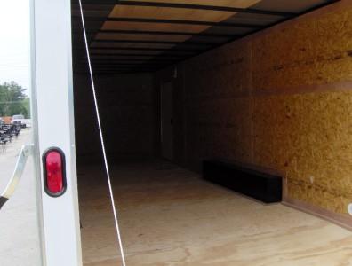 24 enclosed ATV cargo motorcycle trailer racecar car hauler toy hauler