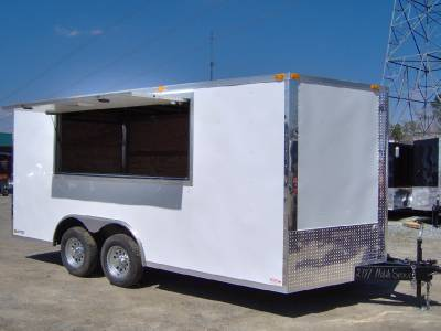 8x16 2ft V 18ft Inside Enclosed Cargo Motorcycle