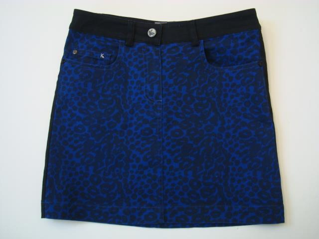 582f07e108 Kookai Sz 34 Eur US 4 Blk Roy Animal Print Stretch Ctn Mini Skirt ...