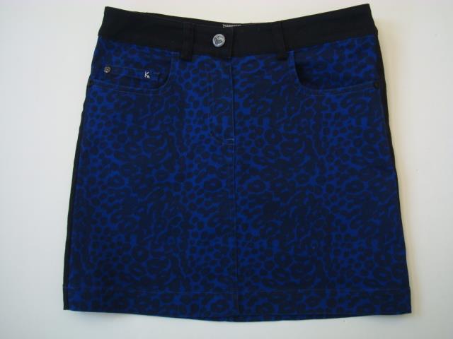 720edb95e92 Kookai Sz 34 Eur US 4 Blk Roy Animal Print Stretch Ctn Mini Skirt ...