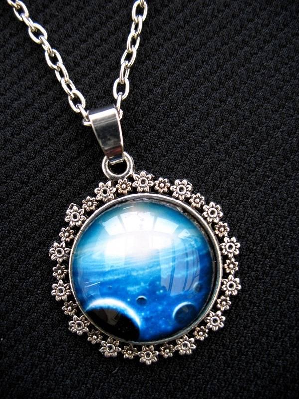 nebula moon necklace - photo #48