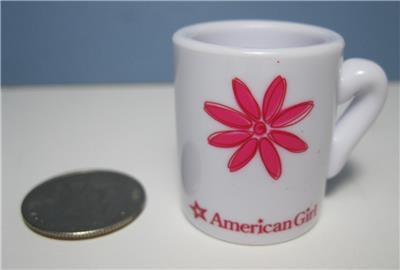 American Girl Doll Pink Flower Plastic Tea Cup Coffee Mug Replacement 4 Kitchen Ebay