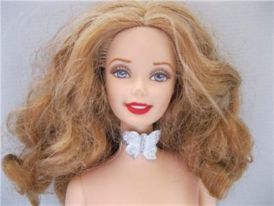 BARBIE nude doll AS TALKING WIZARD OF OZ GLINDA GLYNDA THE