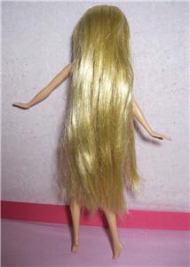 Disney Princess Tangled Rapunzel Barbie Doll Nude Ultra
