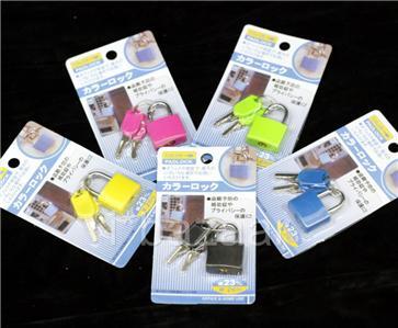 5 x BRASS Luggage Padlock QUALITY Travel Pad Lock