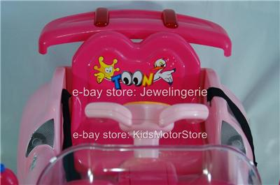 Kids Power Ride on Premium Toy Car Power Wheels 6V Battery Electric Upgraded