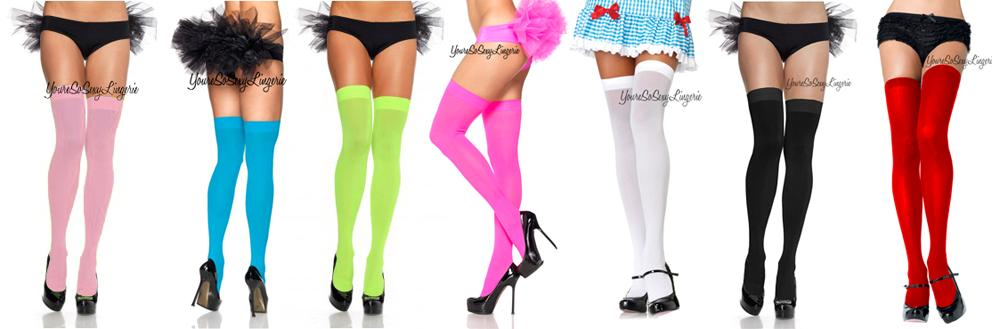 ANKLET SOCKS Frilly Ruffle Lace SATIN BOWS School Girl Costume DANCEWEAR Nylon