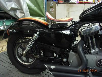"2007-2009 La Rosa Harley Sportster Bobber Solo Seat Mount Kit 5/"" Coil Springs"