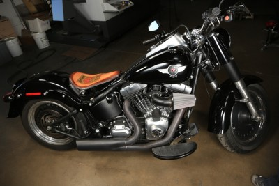 2004 Harley Softail Nighttrain Fatboy Deluxes Cross Slim