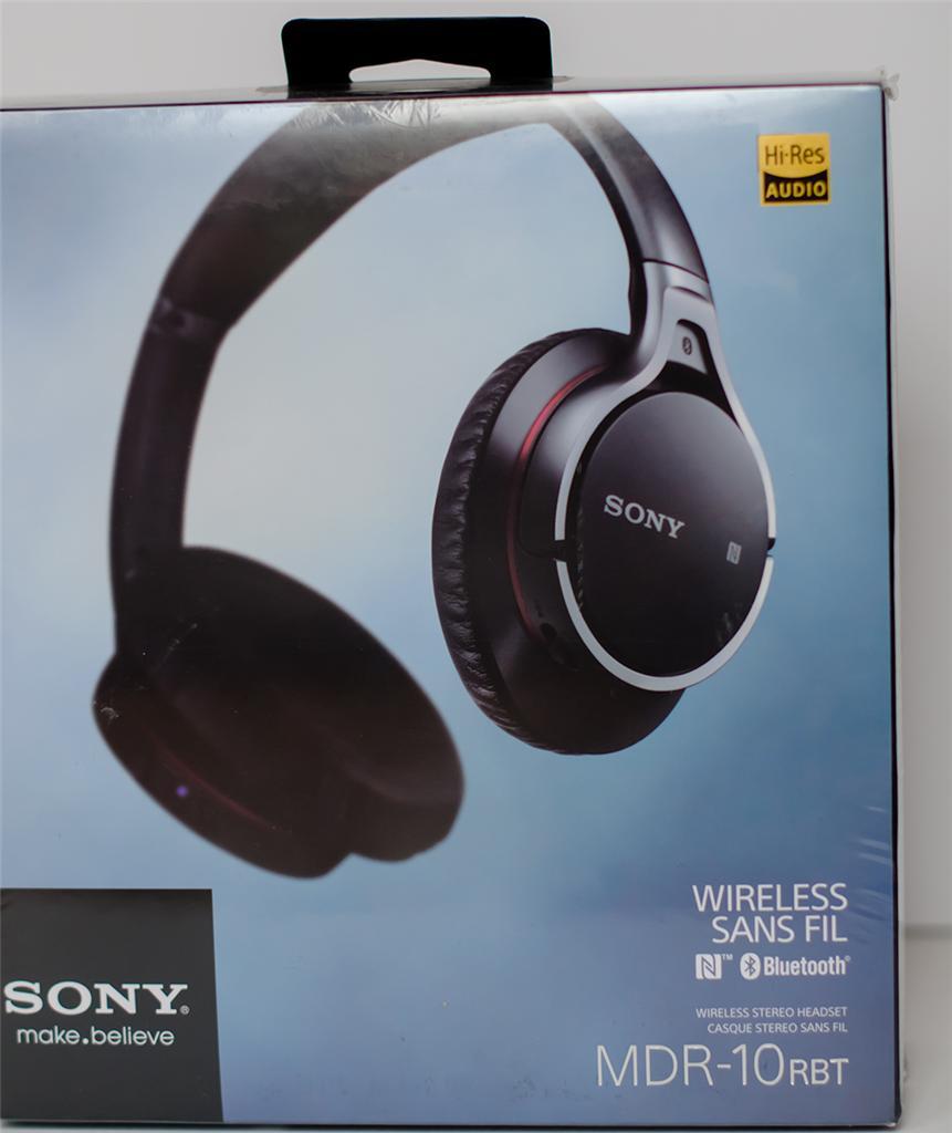 New Sony Mdr10rbt Bluetooth Wireless Headphones Sealed Box Fast Shipping 27242869462 Ebay
