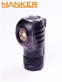 MANKER E04 Cree XP-L 550lm USB Rechargeable 16340 Magnetic Tail Flashlight