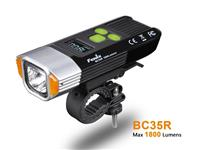 Fenix BC35R Cree XHP50 1800lm USB Rechargeable OLED with Bike Anti-Theft Alarm Headlight