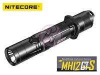 NiteCore MH12GTS Cree XHP35 HD Rechargeable USB Flashlight+NL1835HP