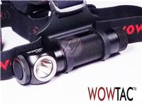 WOWTAC A2S Cree XP-L LED 1050lm Headlight+USB Rechargeable 18650 Battery