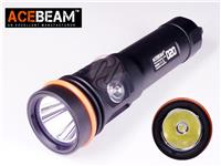 ACEBeam D20 Cree XHP35 2700lm 200M Diving Scuba LED USB Rechargeable 21700 Flashlight