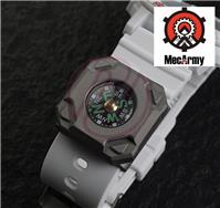 MecArmy CPW-T Titanium Watch Wrist Strap Band Pocket Compass