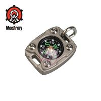 MecArmy CMP2 Pocket Compass+Beaded Necklace Chain